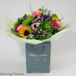 Bright and cheerful gift bouquet