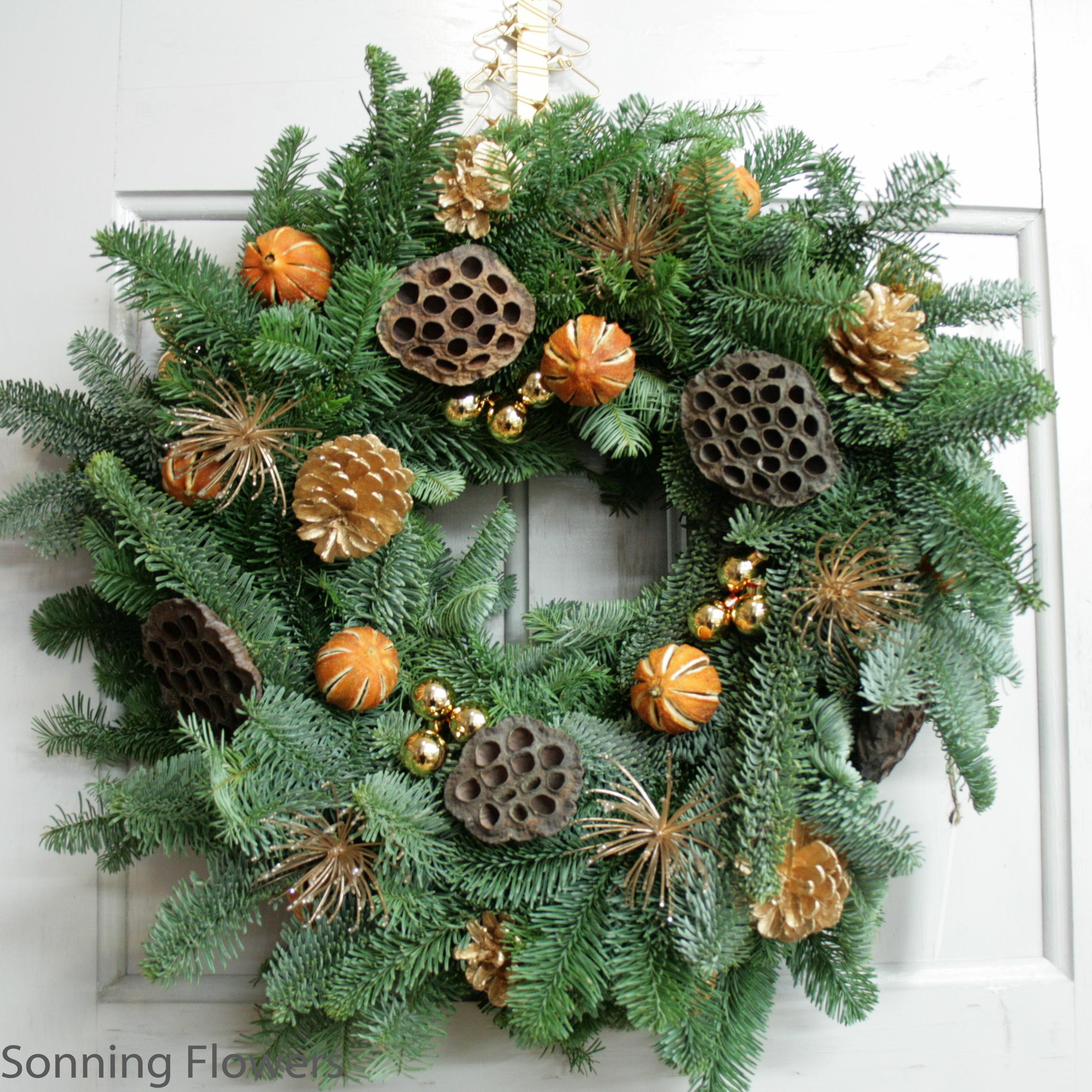 Christmas Wreath Ideas.Christmas Wreath Making