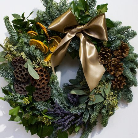 Christmas Wreath Making Sonning Flowers