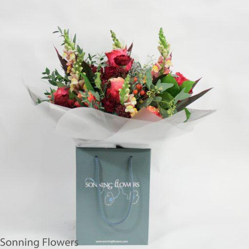 Cherry Brandy Christmas Bouquet