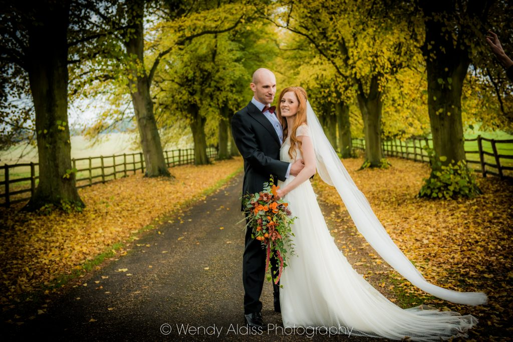 Notley Abbey Autumn Wedding Flowers