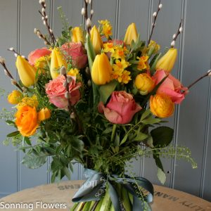 Bright mothers day flowers
