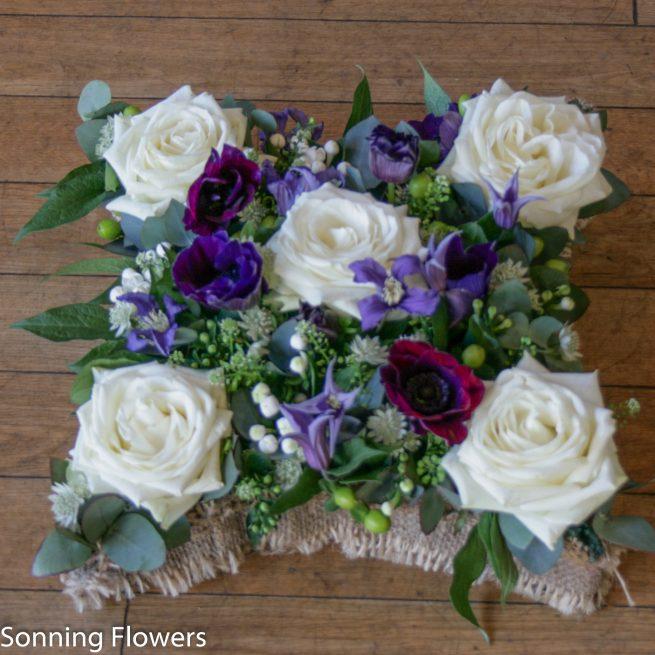 cushion funeral tribute