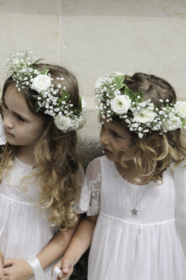 Flower crowns for Flowergirls