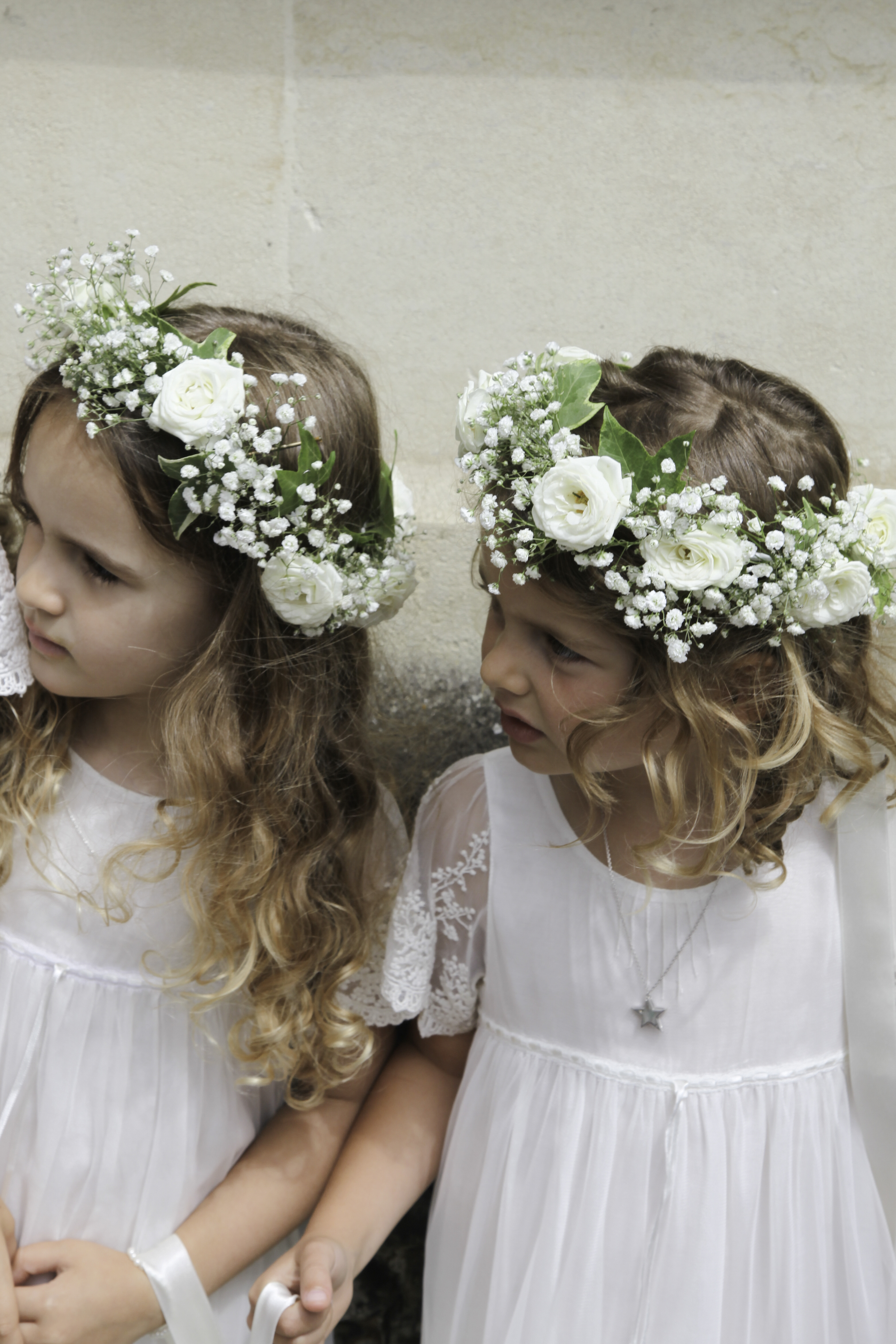 Flower crowns for Flowergirls