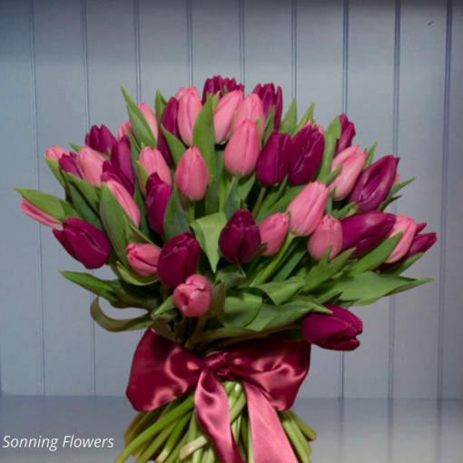 Tulip Mother's Day Bouquet | Florist Reading | Flower Delivery Reading
