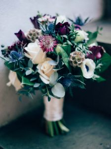 wedding flower colours