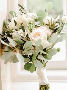 wedding flower colours